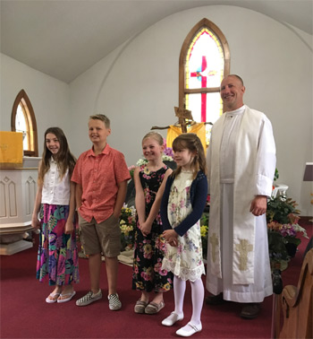 1st communion May 26, 2019